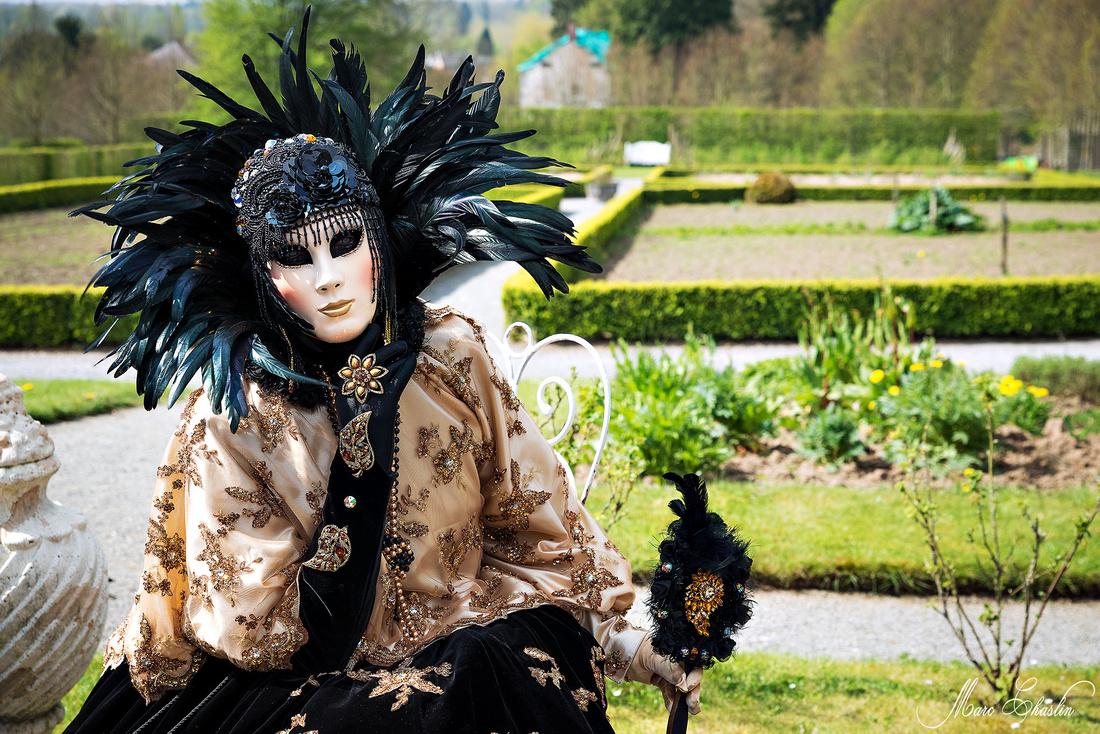 Carnaval vénitien Jardins d'Annevoie 2014 venise