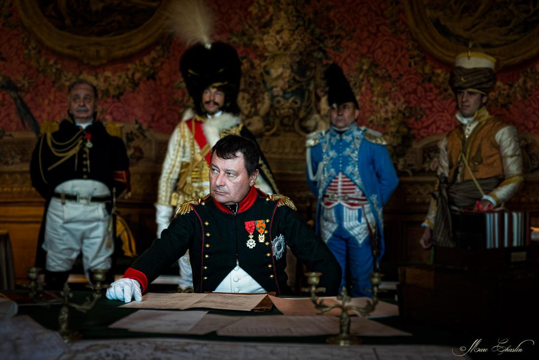 Napoléon à Rambouillet