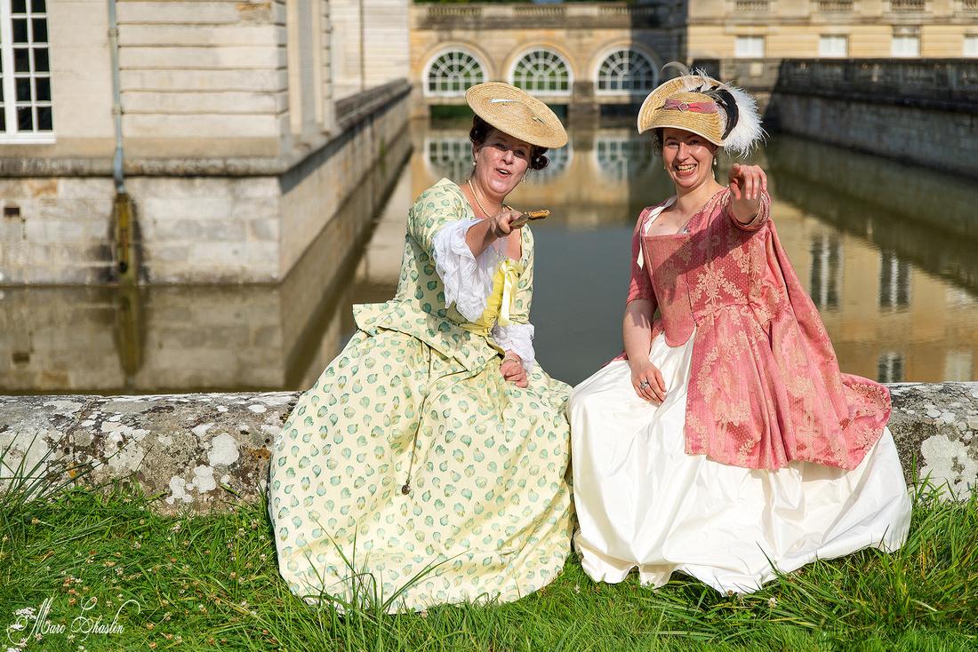 Sortie d'été en 18e au château du Marais Ministère des modes