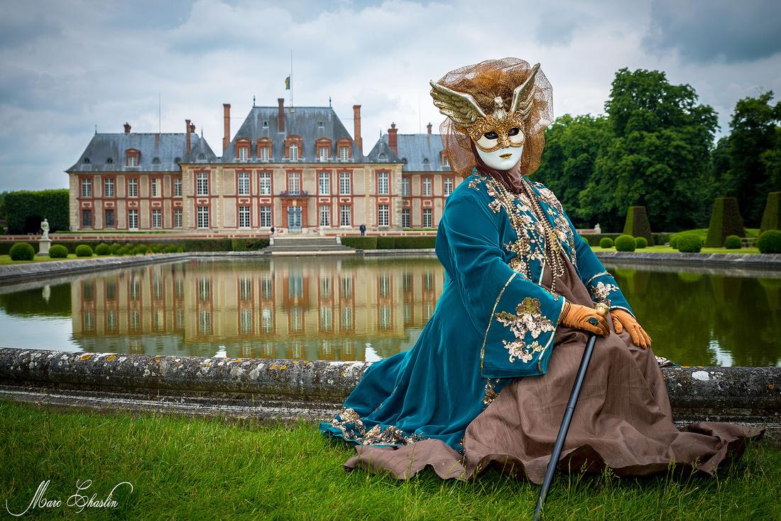 Carnaval vénitien au château de Breteuil 2014 venise